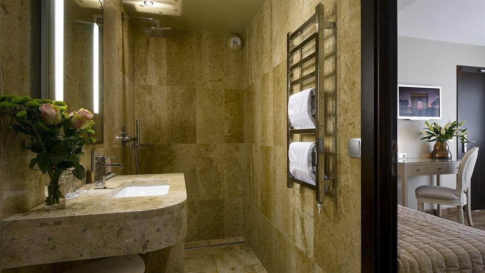 bathroom property home sink plumbing fixture cottage Suite toilet tan