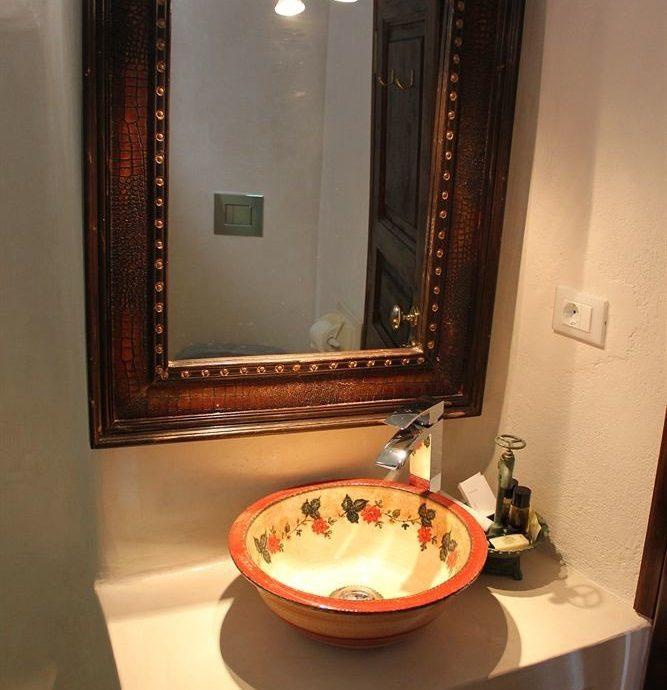 bathroom house property home lighting Suite sink cottage orange