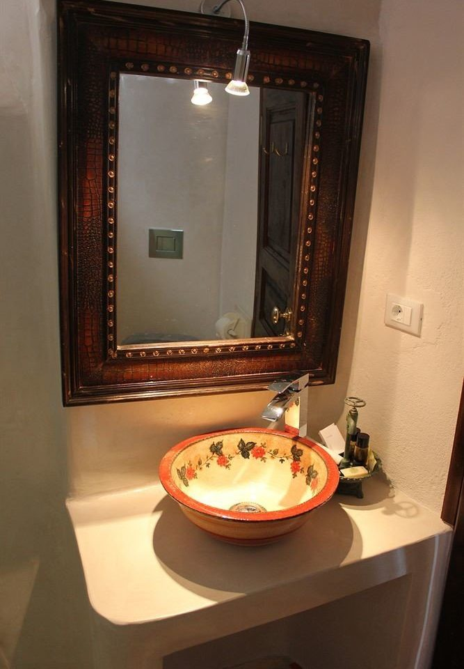 bathroom house property home lighting Suite sink cottage orange