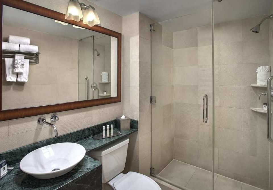 bathroom mirror sink property toilet home cottage Suite