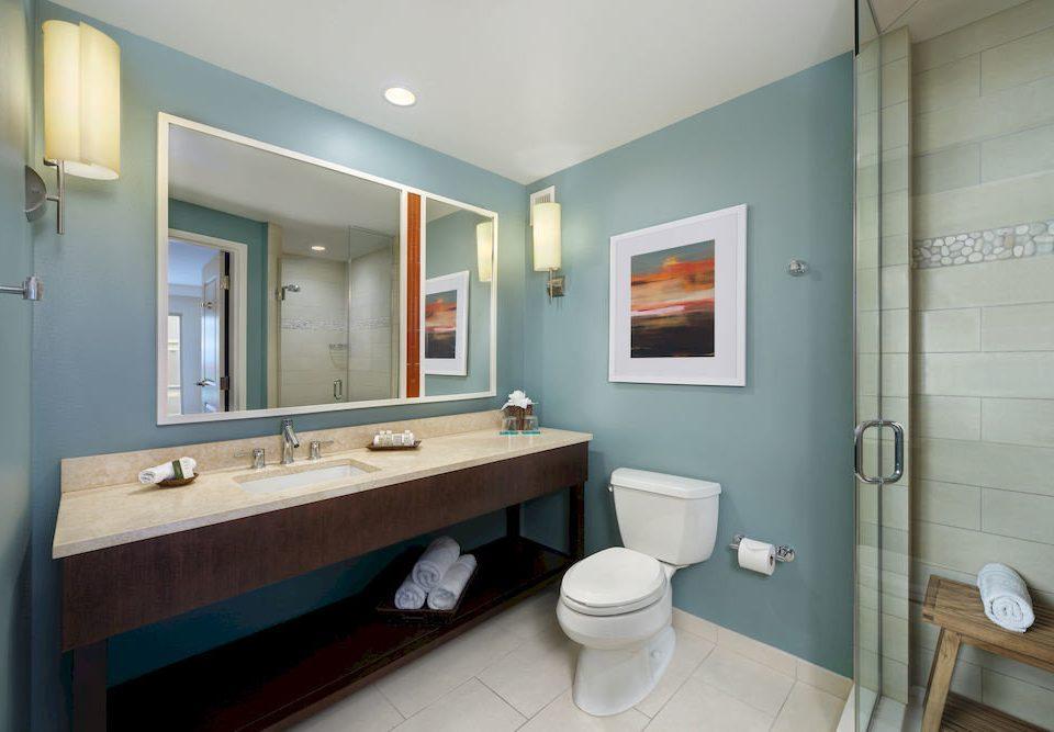 bathroom mirror sink property toilet home Suite cottage