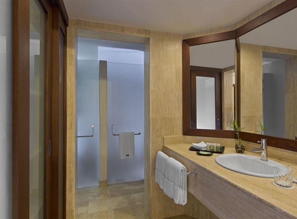 bathroom mirror property sink house Suite home cottage