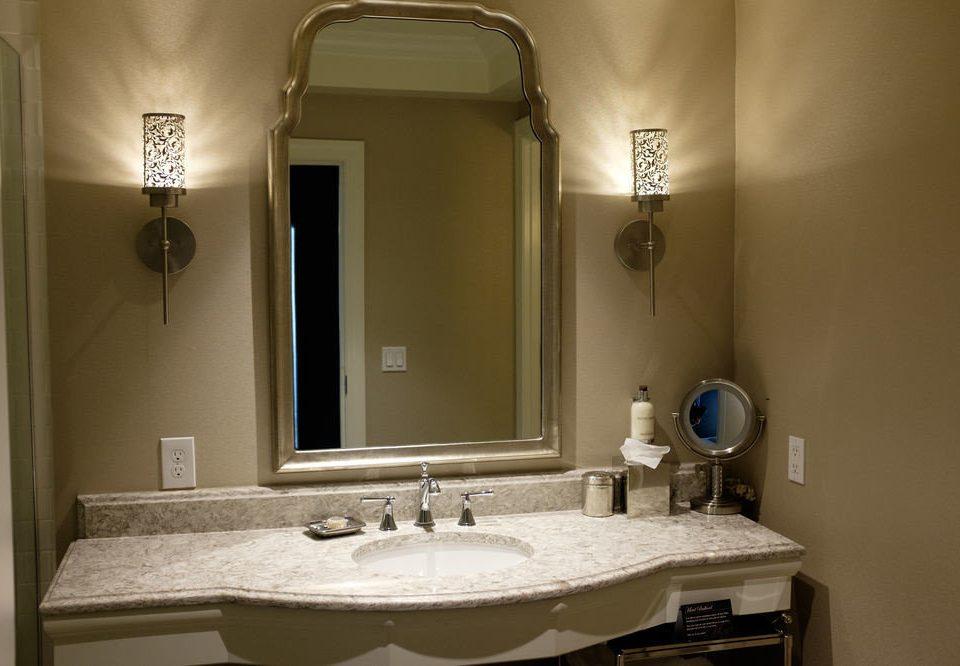 bathroom sink mirror property home lighting cottage plumbing fixture Suite