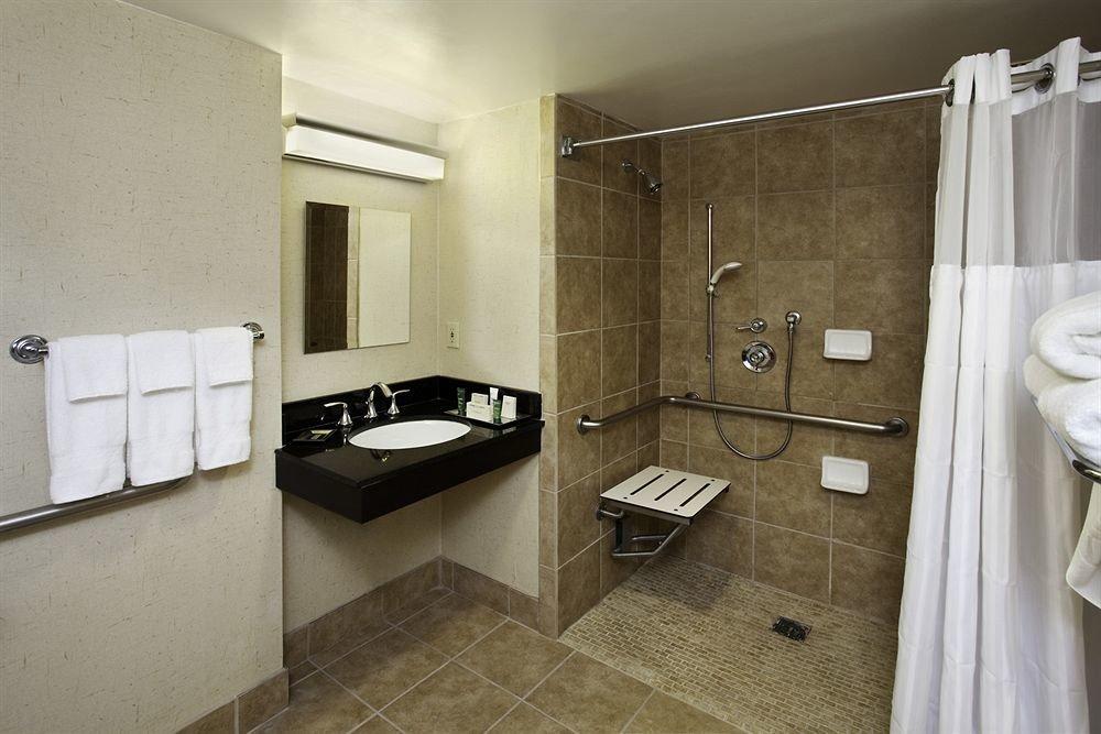 bathroom sink property house home cottage Suite plumbing fixture tile tiled