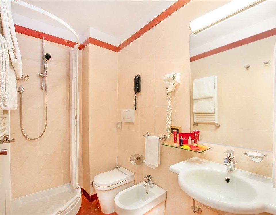 bathroom sink property toilet Suite orange cottage