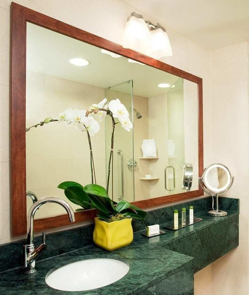 bathroom mirror sink property counter home living room plumbing fixture vanity Suite towel
