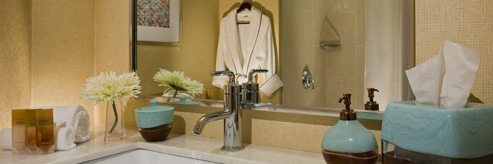 bathroom sink lighting home Suite curtain