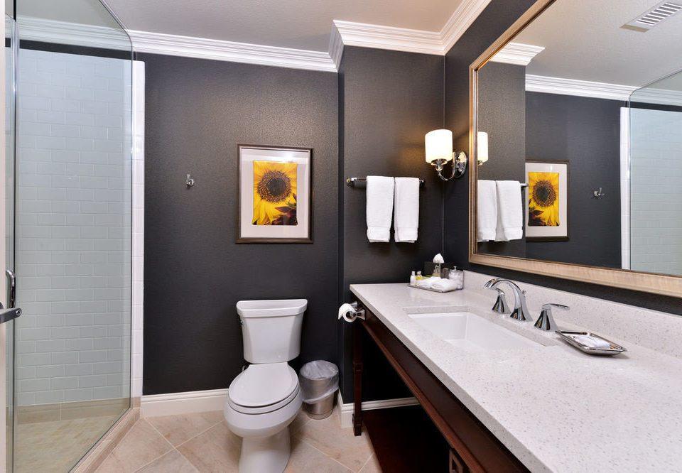 bathroom mirror property sink home Suite flooring plumbing fixture