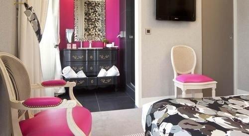property pink flooring bathroom living room Suite
