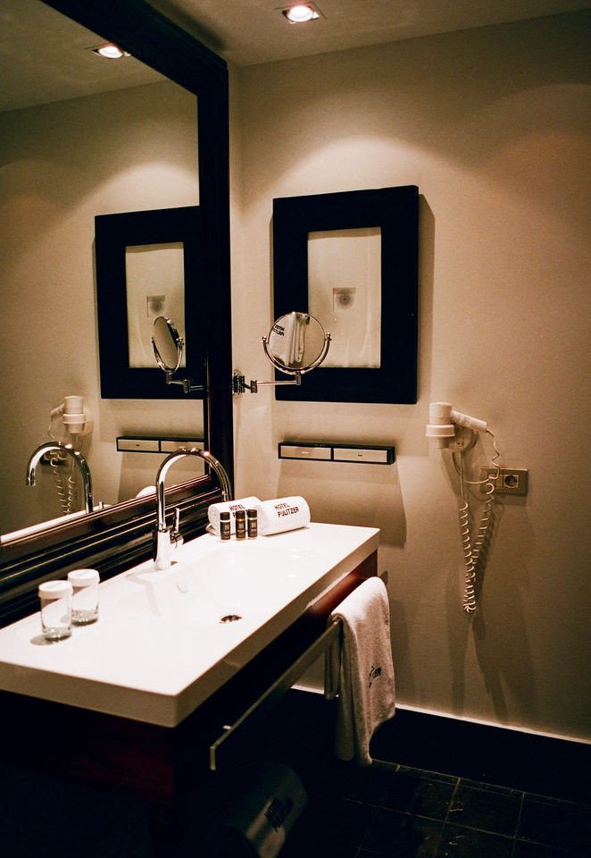 bathroom mirror sink house home lighting living room Suite