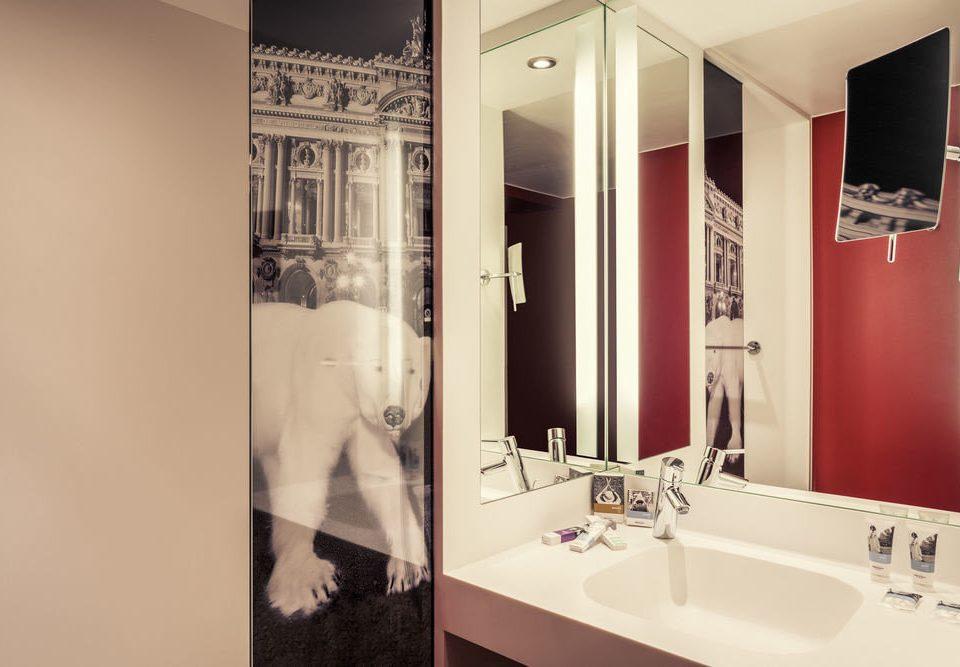 bathroom mirror property sink house home toilet Suite