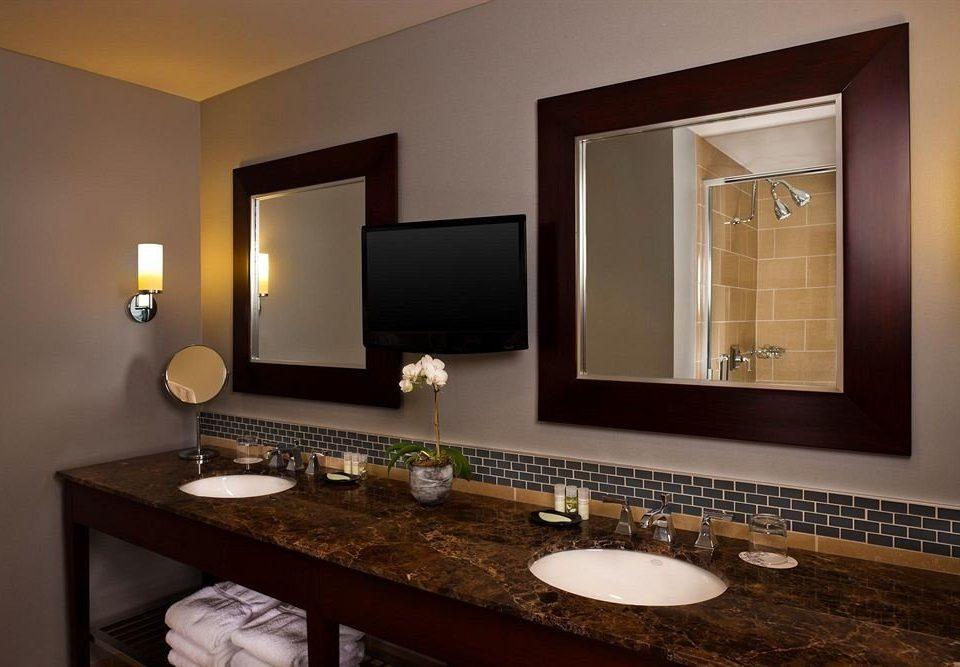 bathroom sink mirror property home living room Suite