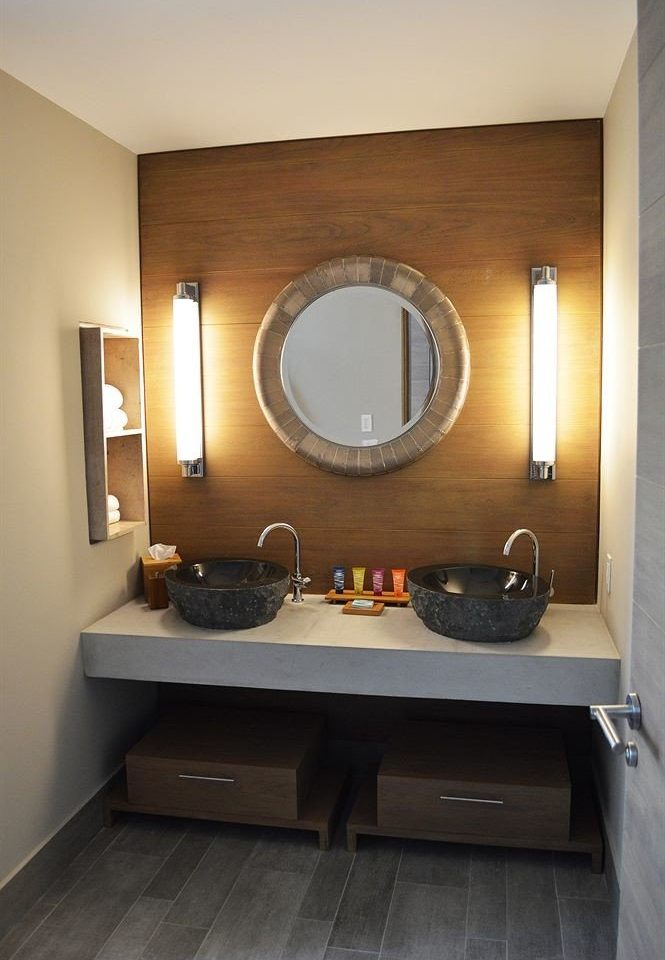 bathroom mirror property sink home Suite living room tile