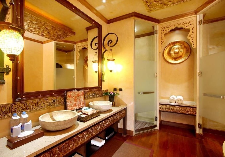 bathroom mirror property sink Suite home mansion