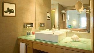 bathroom sink property mirror home Suite