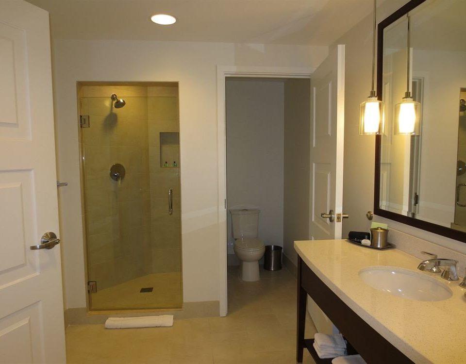 bathroom mirror sink property home Suite plumbing fixture