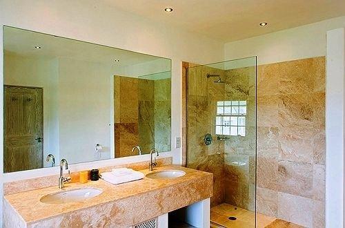 bathroom sink property home Suite plumbing fixture tan