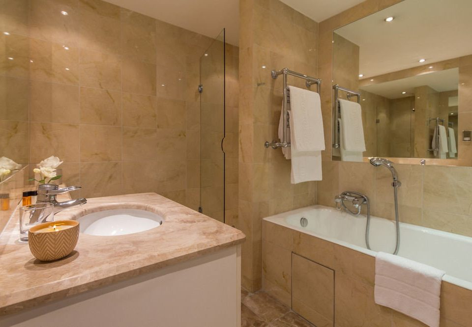 bathroom property sink home plumbing fixture Suite tan