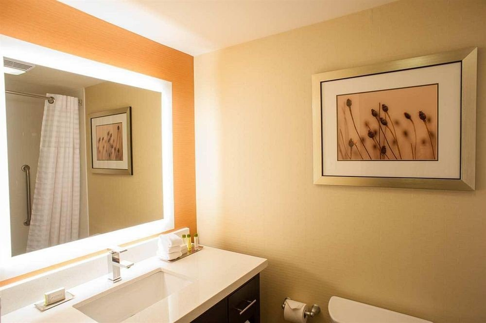 bathroom property sink home Suite tan
