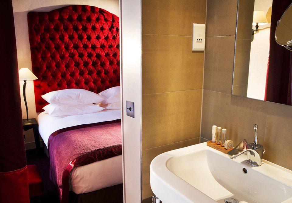 bathroom sink Suite tan