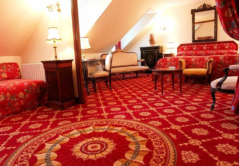 red chair Suite flooring rug bed sheet