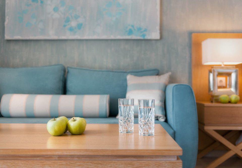 color blue living room home wooden cottage Suite sofa