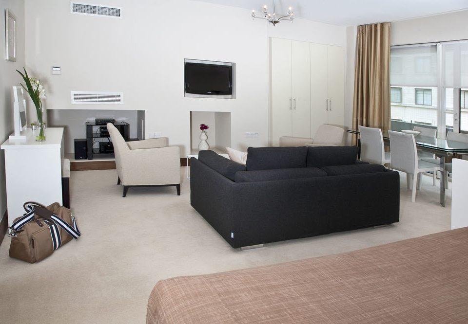 property building living room condominium home Suite loft office