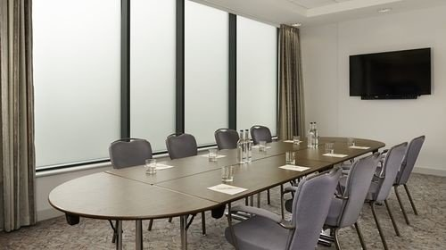 chair property conference hall Suite condominium conference room dining table