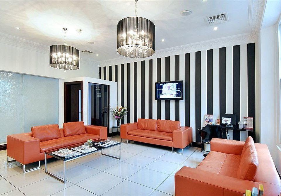 chair property living room orange Suite condominium home