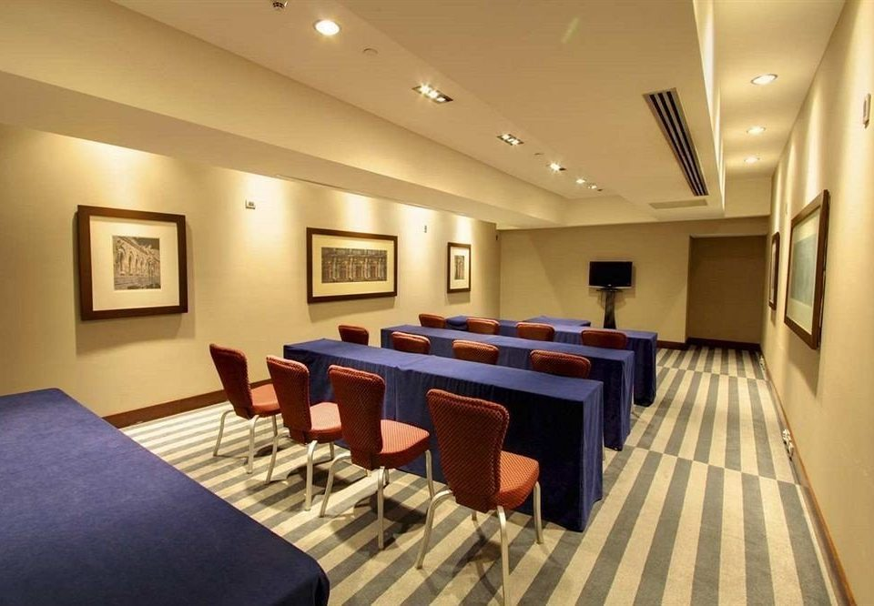 chair property conference hall function hall recreation room convention center Suite set
