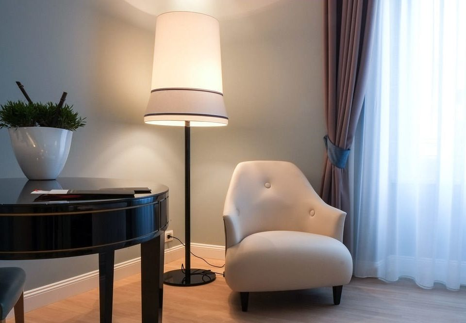 curtain property living room home Suite lighting chair lamp