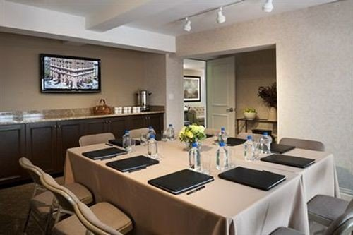 property condominium conference hall Suite living room restaurant