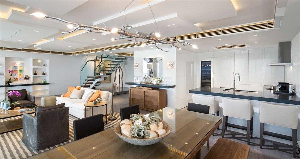 property living room condominium home counter cottage Suite loft