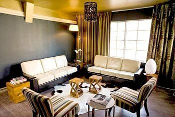 property living room Suite condominium cottage leather dining table