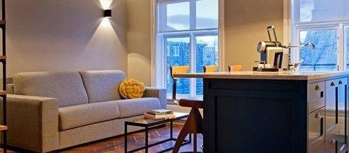property home living room cottage Suite condominium