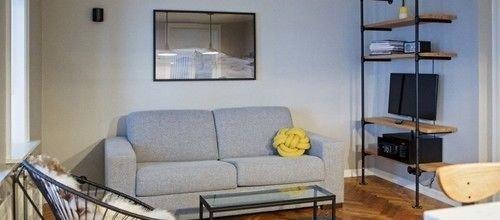 property living room cottage home condominium Suite loft sofa