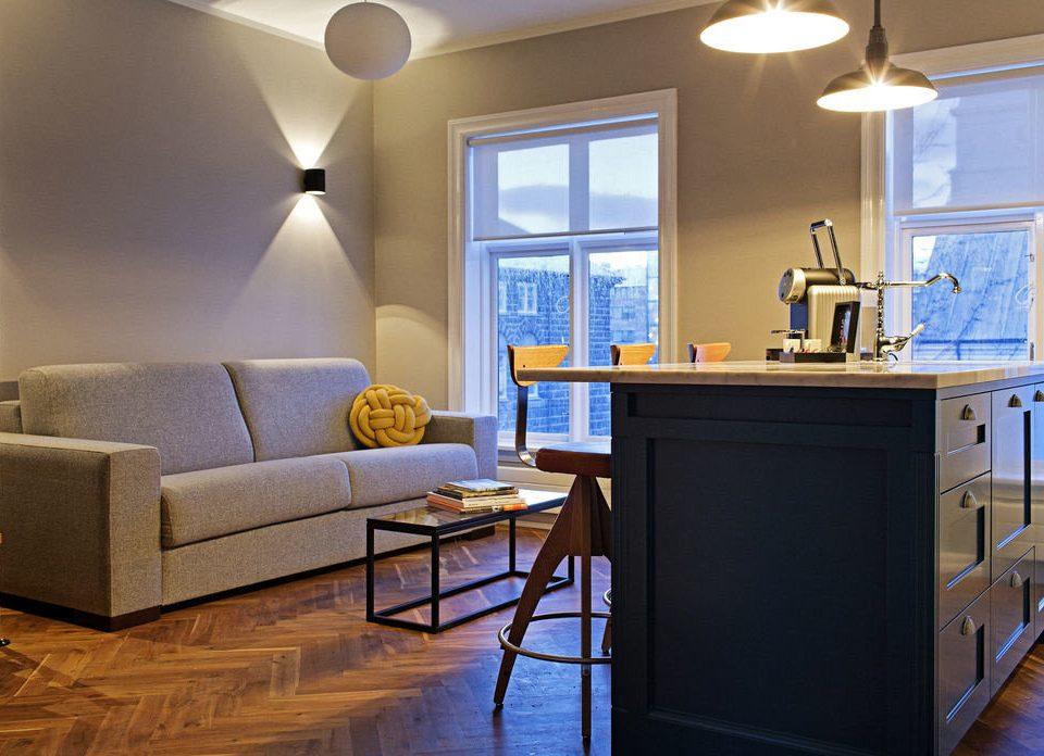 property living room home lighting Suite cottage condominium