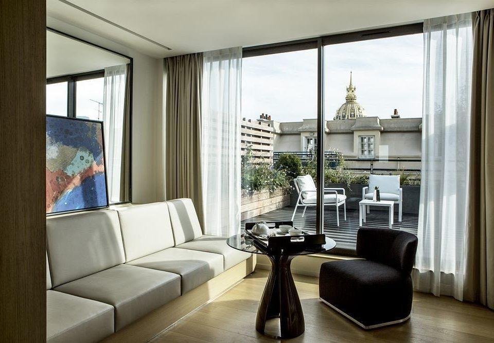 living room property condominium home window treatment curtain Suite