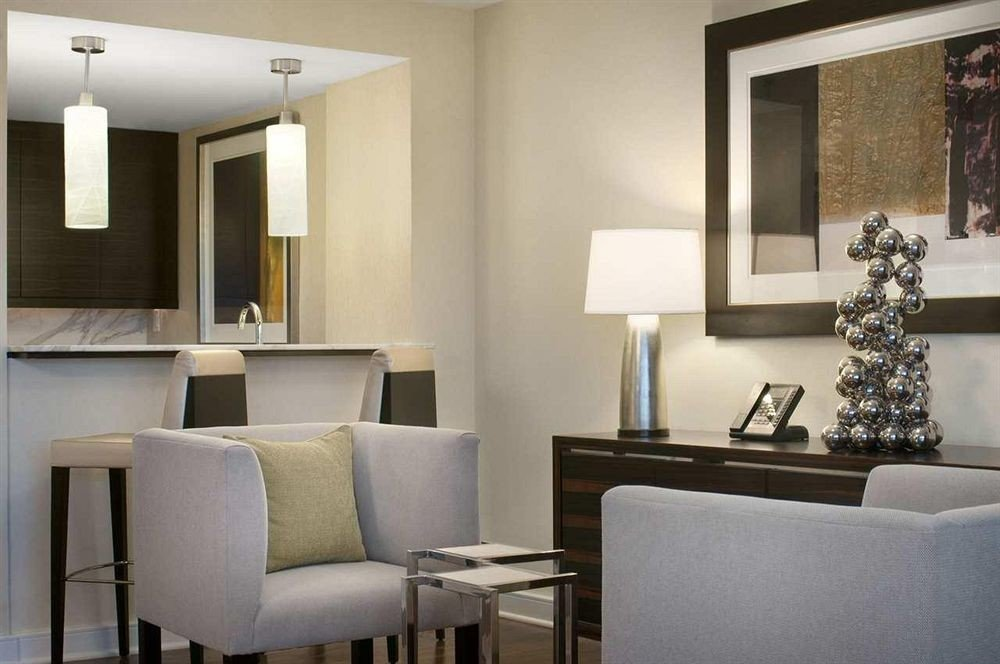 living room property condominium Suite home lighting dining table