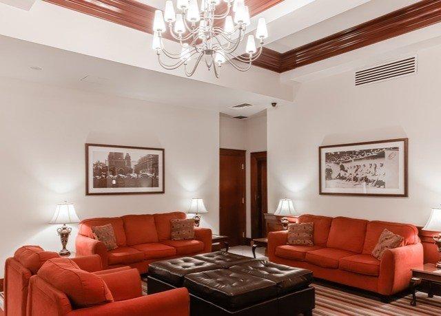 sofa living room property orange red home Suite leather condominium flat