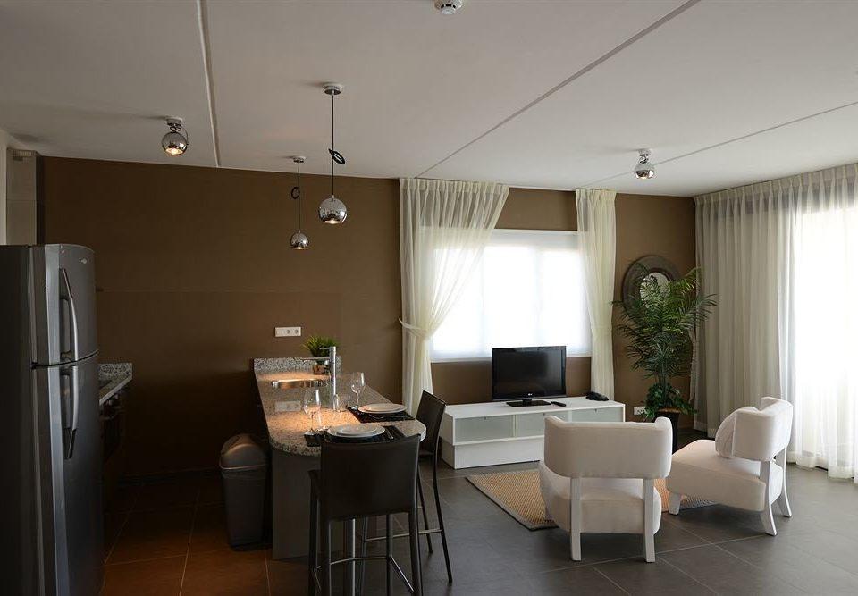 property condominium Suite home living room
