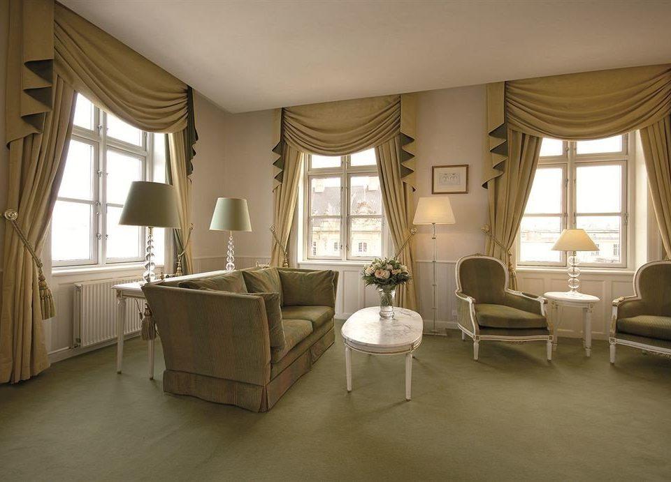 property living room home Suite condominium window treatment