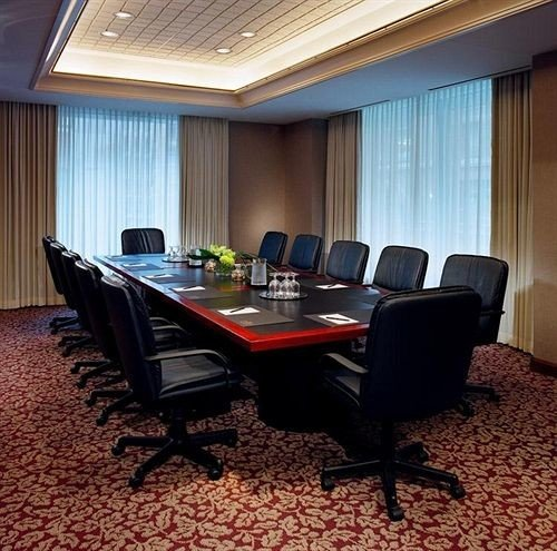 property conference hall office Suite curtain recreation room living room flat conference room