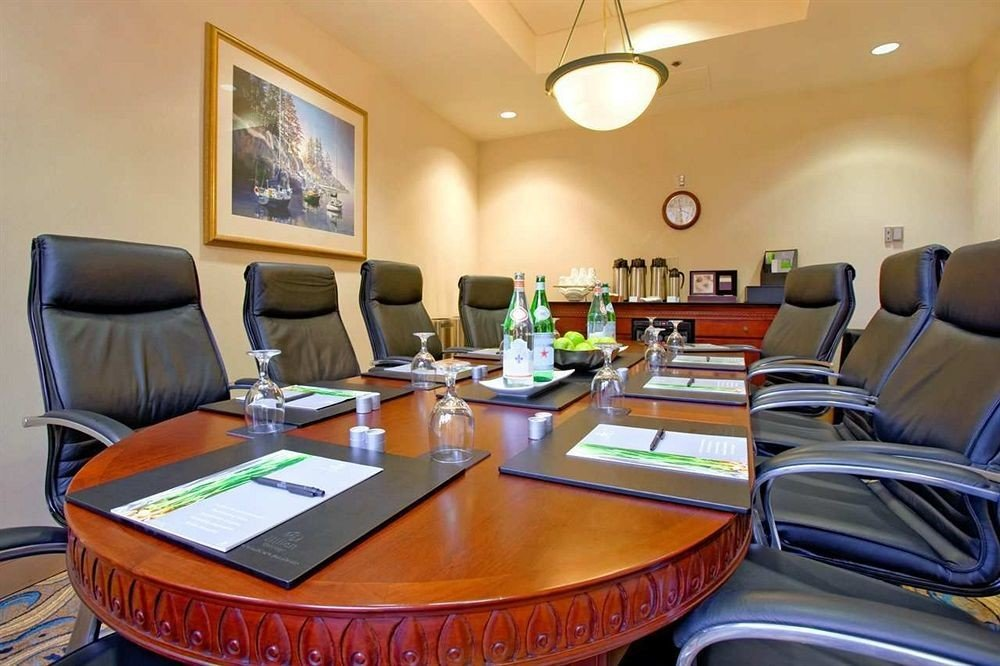 property conference hall recreation room Suite living room leather conference room dining table desk