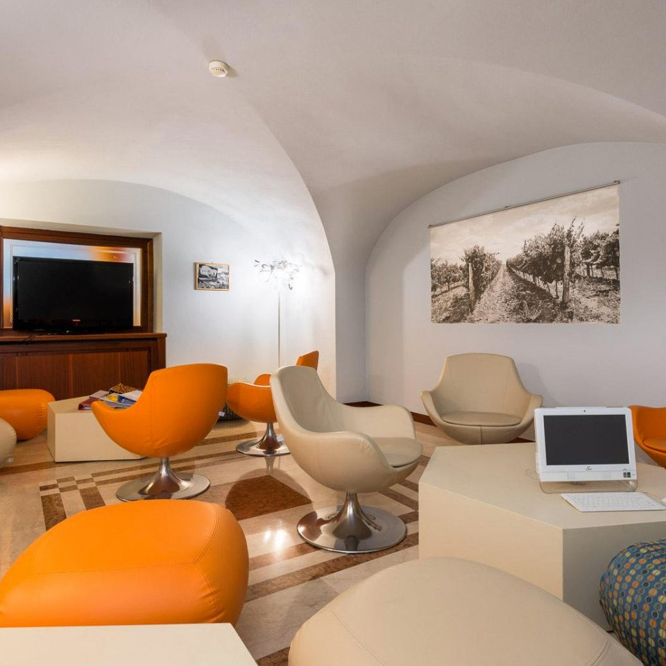 property Suite living room orange containing