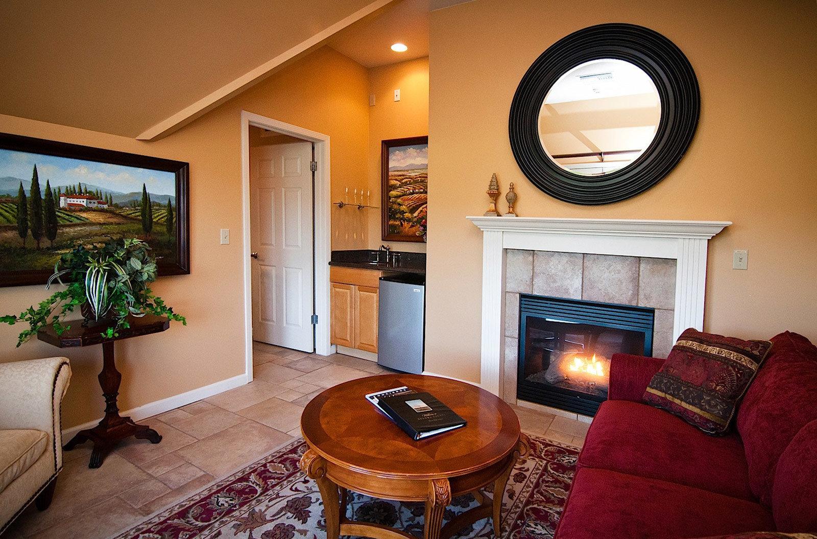 property home living room house cottage orange Suite hardwood farmhouse