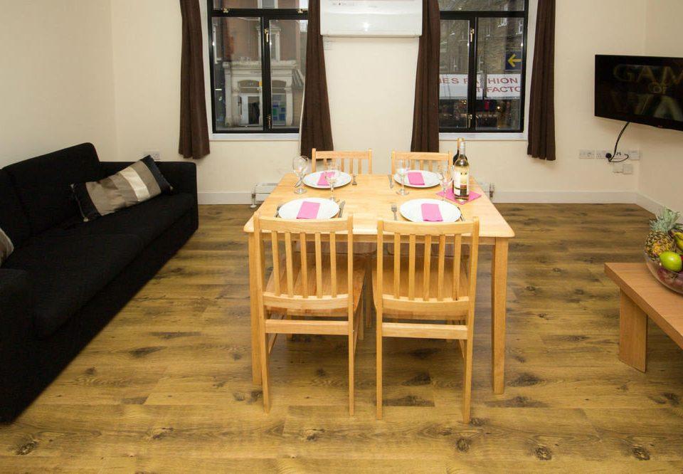 property hardwood home cottage living room Suite flooring