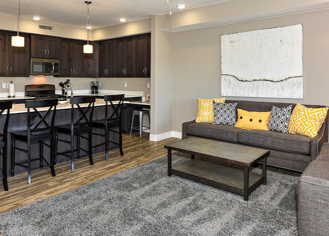 property living room home hardwood flooring Suite wood flooring cottage