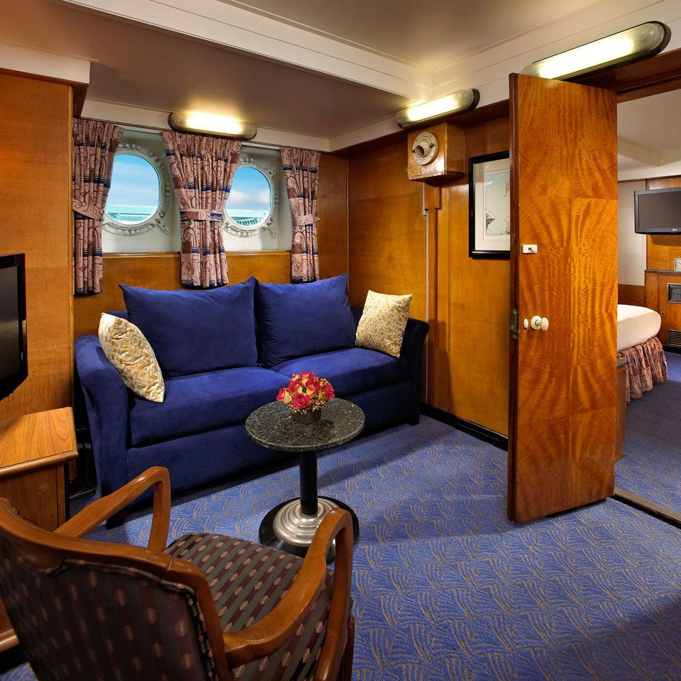 property Suite living room vehicle home cottage yacht recreation room