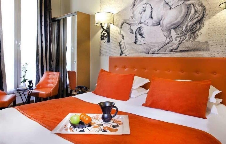 orange property living room Suite cottage